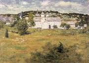 julian alden weir Williamntic Thread Factory oil painting on canvas