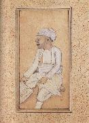 A Portrait of Mohan Lal Diwan of William Fraser, unknow artist
