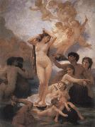 The Birth of Venus, Adolphe William Bouguereau