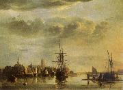 Aelbert Cuyp The Meuse by Dordrecht