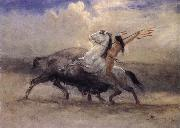 Albert Bierstadt Last of the Buffalo oil painting reproduction