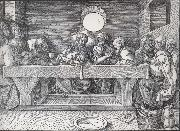 THe Last supper, Albrecht Durer