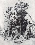 The Death of Orpheus, Albrecht Durer