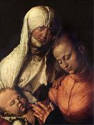 The Virgin and child with St.Anne