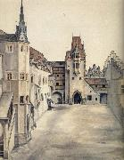 The Courtyard of the Former Castle in innsbruck, Albrecht Durer