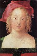 Albrecht Durer Young Woman with a Red Beret oil painting reproduction