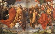 Albrecht Durer The Adoration of the Holy Trinity oil painting reproduction