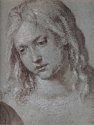 THe Head of christ at age twelve, Albrecht Durer