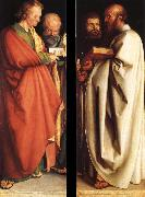 The four apostles, Albrecht Durer