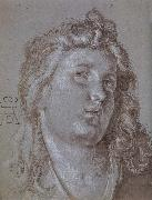 Head of an  angel, Albrecht Durer