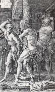 The Flagellation of Christ, Albrecht Durer