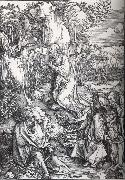 Albrecht Durer Agony in the Garden oil painting reproduction