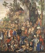 The Martyrdom of the ten thousand, Albrecht Durer