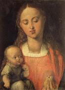 The Madonna with the pear, Albrecht Durer
