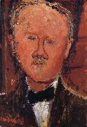 Portrait de Monsieur cheron, Amedeo Modigliani