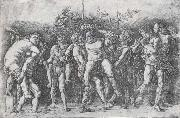 A Bacchanal with Silenus, Andrea Mantegna