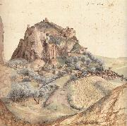 The Castle and Town of Arco, Andrea Mantegna