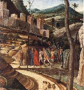 Detail of The Agony in the Garden, Andrea Mantegna