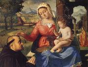 The Virgin and Child with a Donor