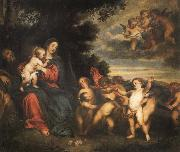 Anthony Van Dyck The rest in the flight to Egypt oil painting reproduction