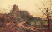 Atkinson Grimshaw The Deserted House oil painting