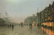 Liverpoool from Wapping, Atkinson Grimshaw