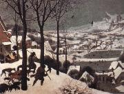 The Hunters in the Snow, BRUEGHEL, Pieter the Younger
