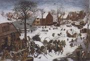 The Numbering at Bethlehem, BRUEGHEL, Pieter the Younger