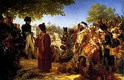 Napoleon Pardoning the Rebels at Cairo, Baron Pierre Narcisse Guerin
