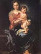 Bartolome Esteban Murillo Madonna and Child