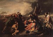 The death of general Wolf, Benjamin West
