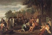 Penn-s Treaty with the Indians, Benjamin West