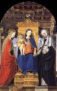The Virgin and Child Enthroned with Saint Catherine of Alexandria and Saint Catherine of Siena