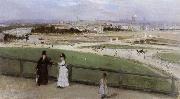 Berthe Morisot Face on Paris from Trocadero oil painting on canvas