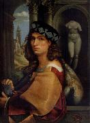 CAPRIOLO, Domenico Portrait of a man oil painting reproduction