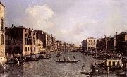 Looking South-East from the Campo Santa Sophia to the Rialto Bridge, Canaletto
