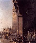 Looking East from the South West Corner, Canaletto
