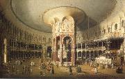 London Interior of the Rotunda at Ranelagh, Canaletto