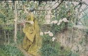 The Vine Diptych, Carl Larsson