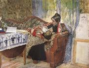 A Mother-s Thoughts, Carl Larsson