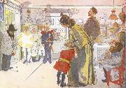 Star Boys Call at Larssons, Carl Larsson
