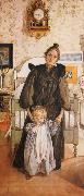 Karin and Kersti, Carl Larsson
