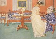 The Bridesmaid, Carl Larsson