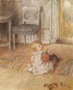 Pontus on the Floor, Carl Larsson