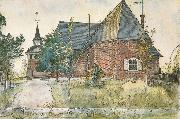 The Old Church at Sundborn, Carl Larsson