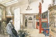 The Other Half of the Studio, Carl Larsson