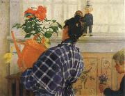 The Artist-s Wife and Children, Carl Larsson