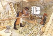In the Carpenter Shop, Carl Larsson