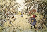 Apple Harvest, Carl Larsson