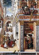 Carlo Crivelli The Annunciation oil painting reproduction